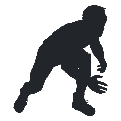 Man wrestler silhouette Transparent PNG