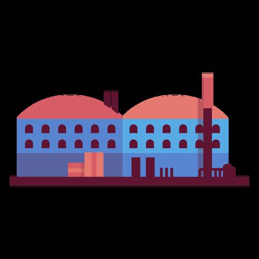 Ilustración de planta de fabricación Transparent PNG
