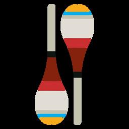 Maraca-Musikinstrument-Symbol
