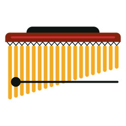 Mark tree musical instrument icon