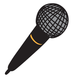 Micrófono micrófono doodle