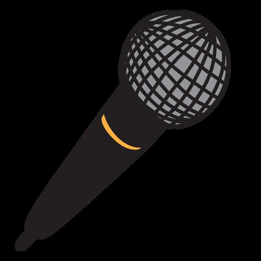 Microphone mic doodle Transparent PNG