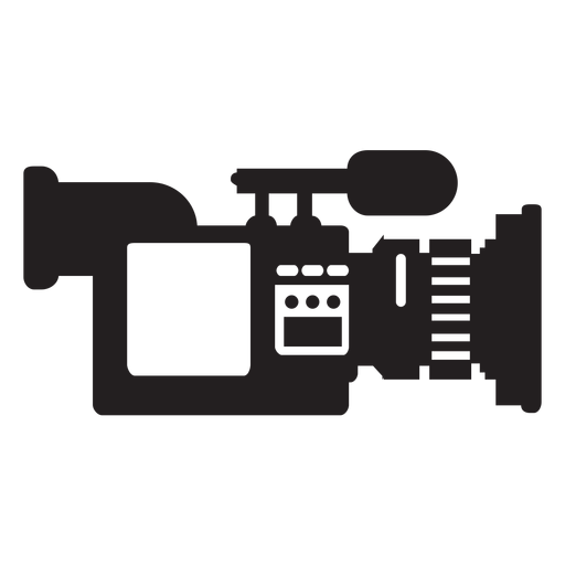 Mobile news camera flat icon Transparent PNG