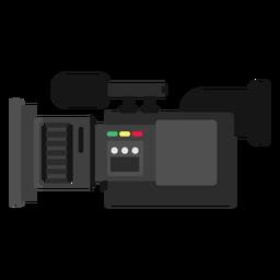 Ilustração de câmera de notícias móvel