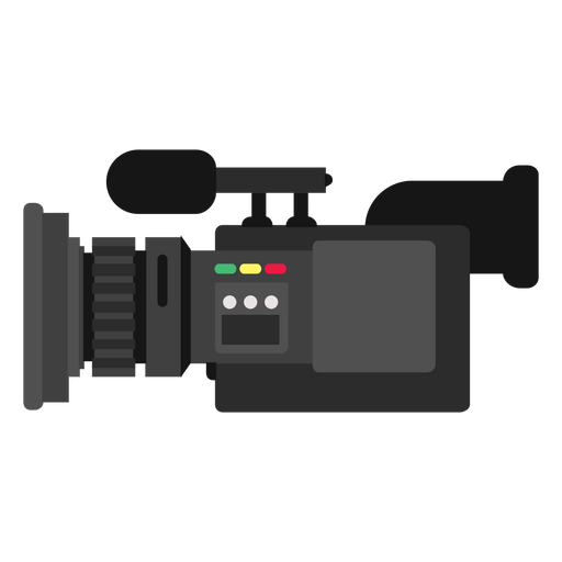 Mobile news camera illustration Transparent PNG