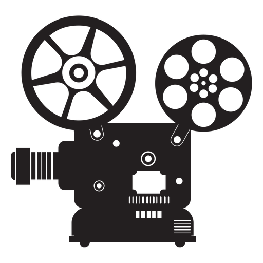 Movie projector flat icon Transparent PNG