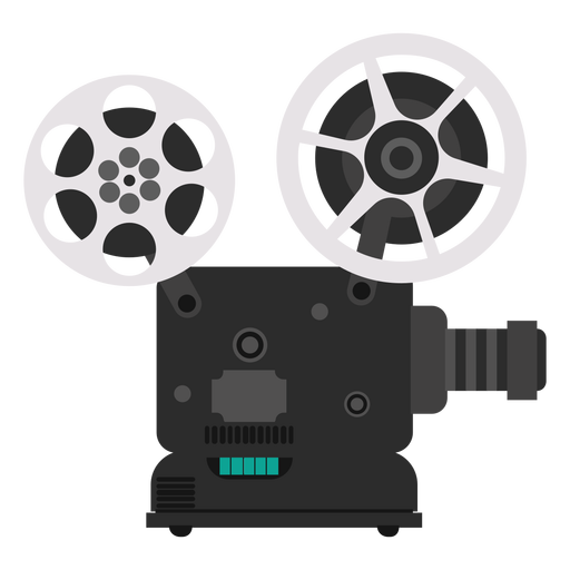 Movie projector illustration Transparent PNG