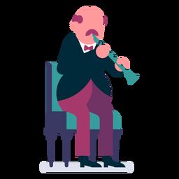 Orquesta flautista de dibujos animados