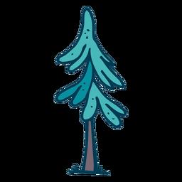 Dibujos animados de pino