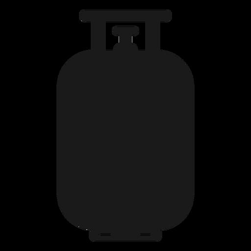 Silueta del tanque de gas propano Transparent PNG