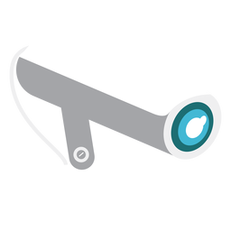 Ilustração de câmera de vídeo de segurança