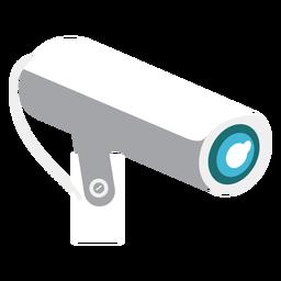 Ilustración de la cámara de video de seguridad