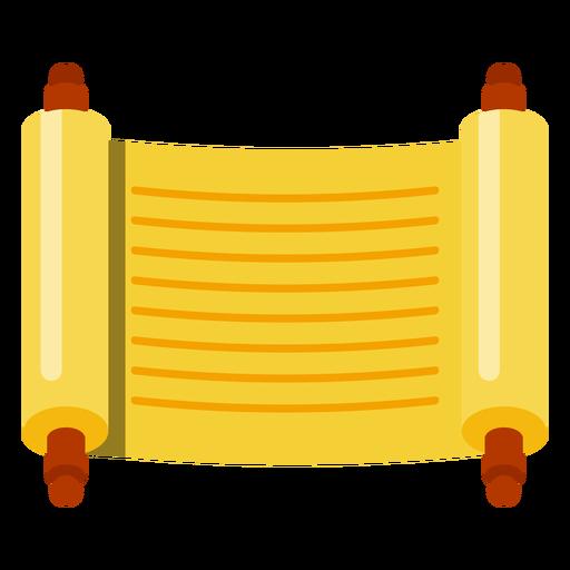 Sefer icono de desplazamiento de la Torá Transparent PNG