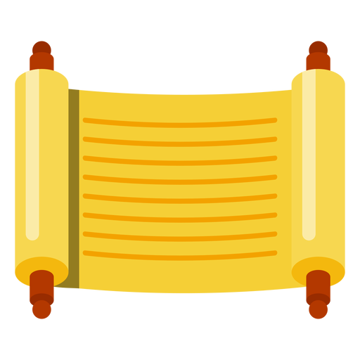 Sefer torah scroll icon Transparent PNG