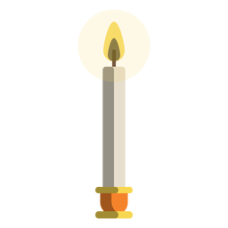 Ícone de vela Shamash