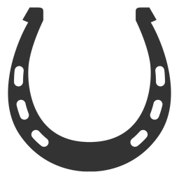 Six holes horseshoe silhouette