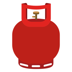 Ícone pequeno cilindro de gás
