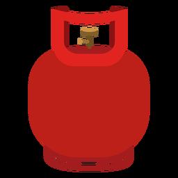 Icono de cilindro de gas pequeño