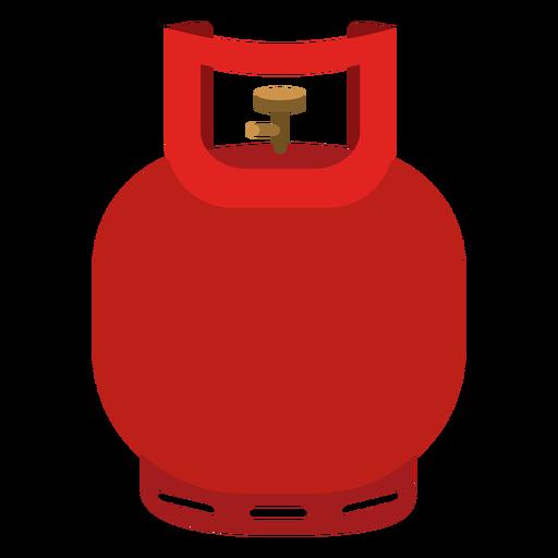 Icono de cilindro de gas pequeño Transparent PNG