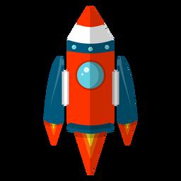 Cohete espacial clipart