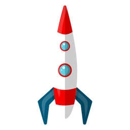Ilustração de foguete espacial