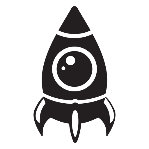 Space ship flat icon Transparent PNG