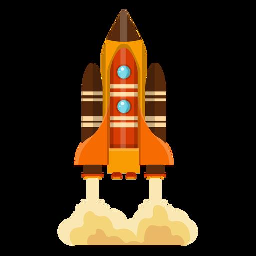 Space shuttle illustration Transparent PNG