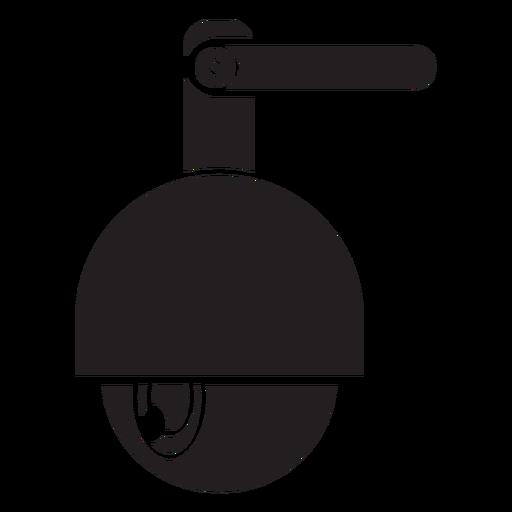 Icono de cámara de seguridad de cúpula de velocidad Transparent PNG