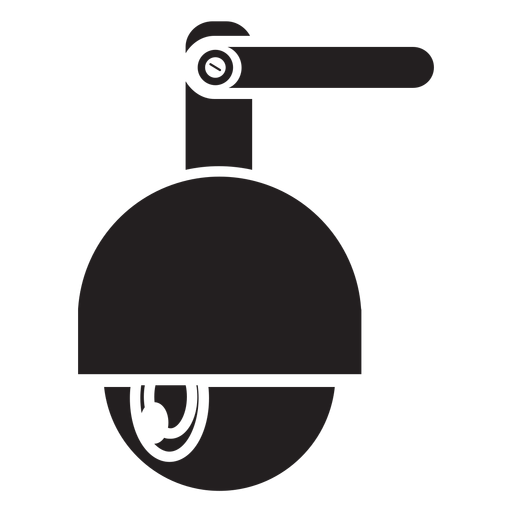 Speed dome security camera icon