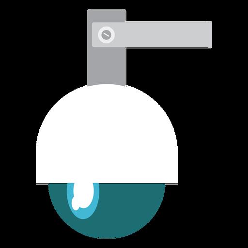 Ilustração de câmera de segurança cúpula de velocidade Transparent PNG
