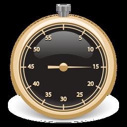 Cronómetro 3d icono