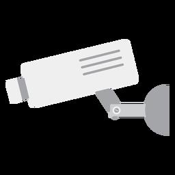 Ilustração de câmera de vídeo de vigilância