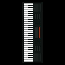 Icono de instrumento musical sintetizador