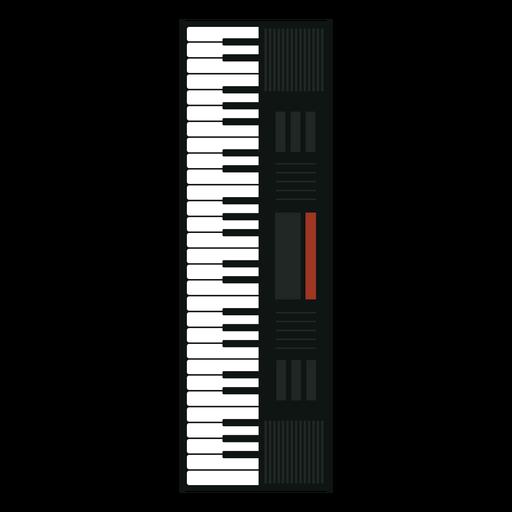Icono de instrumento musical sintetizador Transparent PNG