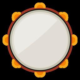 Icono de instrumento musical pandereta