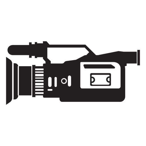 Television camera flat icon Transparent PNG