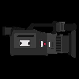 Ilustração de câmera de televisão