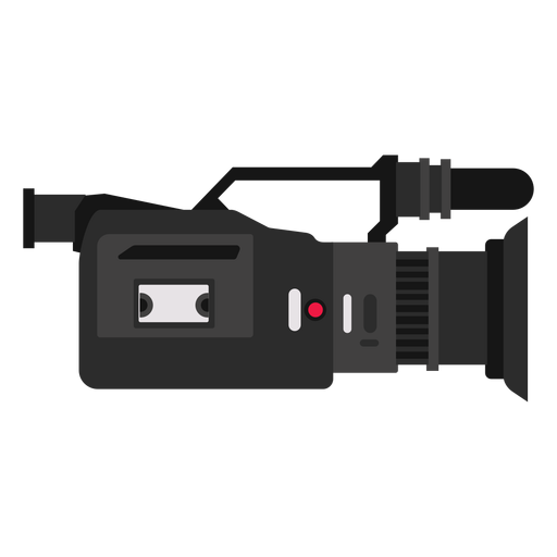 Ilustración de cámara de televisión Transparent PNG