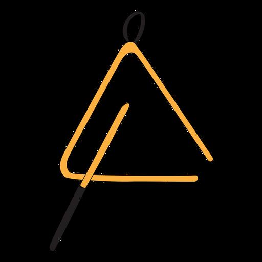 Doodle de instrumento musical triángulo Transparent PNG