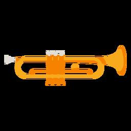 Icono de instrumento musical de trompeta