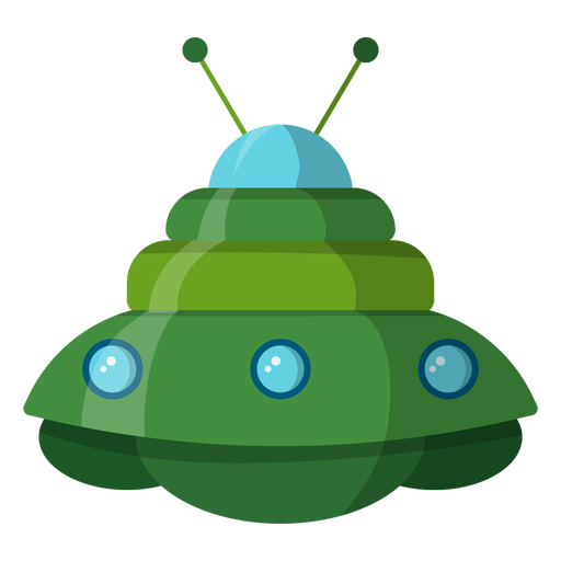 Unidentified flying object illustration Transparent PNG