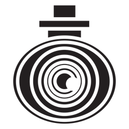Icono plano de seguridad de cámara de video