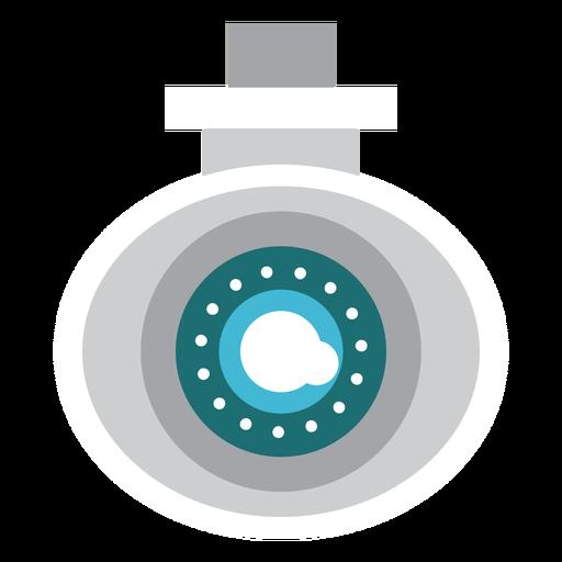 Ilustración de seguridad de cámara de video Transparent PNG
