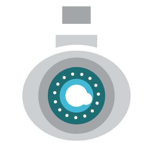 Video camera security illustration Transparent PNG