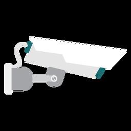 Ilustração de vigilância de câmera de vídeo