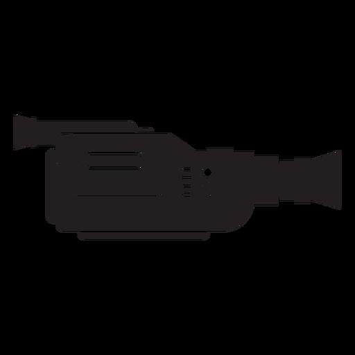 Ícone plano de câmera de filme de vídeo Transparent PNG