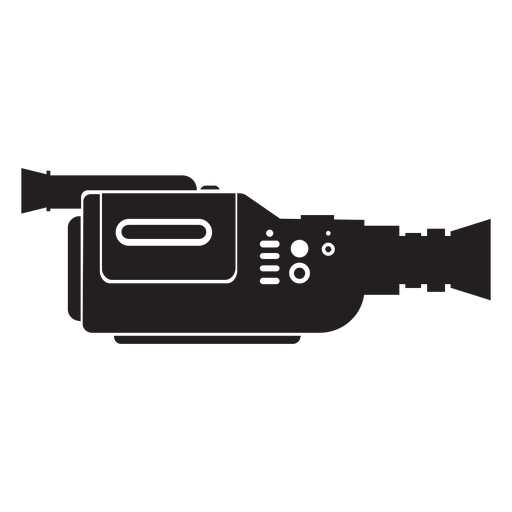 Video movie camera flat icon Transparent PNG