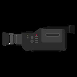 Ilustración de cámara de película de video