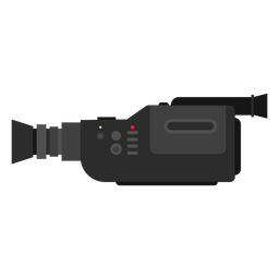 Video movie camera illustration