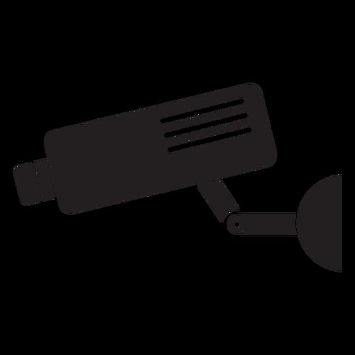 Ícone plano de câmera de segurança de vídeo Transparent PNG